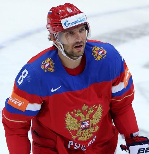 Александр Овечкин - один из лидеров сборной России