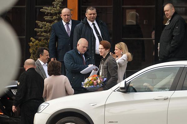 Внук Пугачевой Никита с женой Аленой