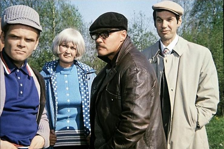 В картине своего близкого друга Василия Шукшина «Калина красная» Бурков сыграл Губошлепа