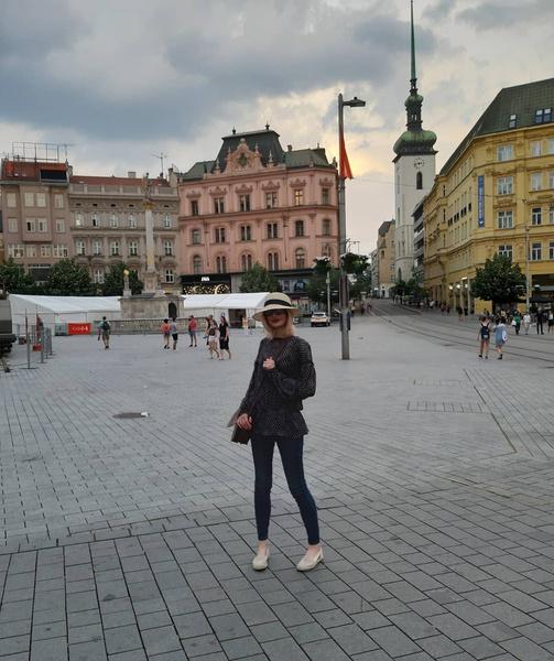 Элеонора Кондратюк часто бывает за рубежом