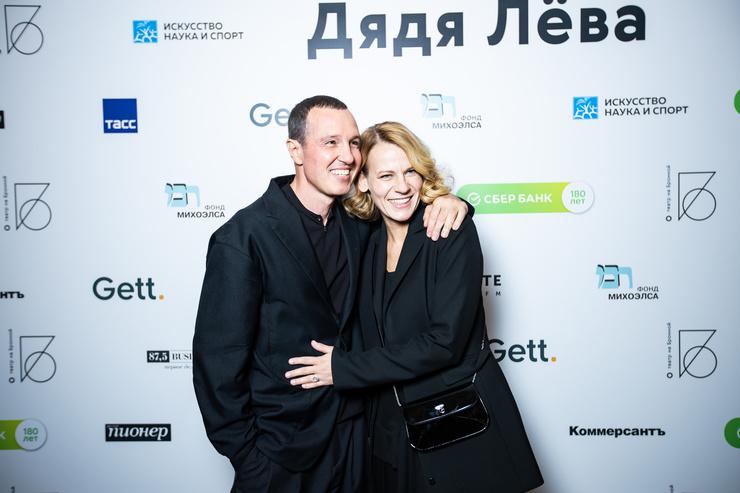 Игорь Верник и Александра Ребенок