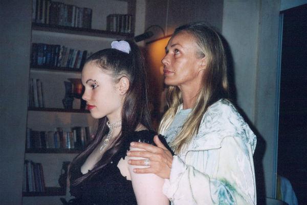 Наталья Андрейченко с дочерью Настей
