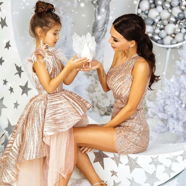 Главные рекламные лица бренда — ее дети