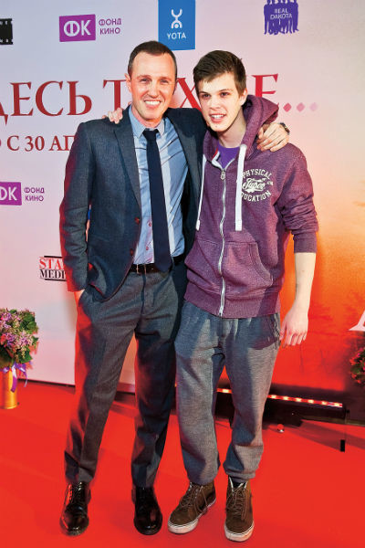 Сын Верника, как и отец, решил стать актером