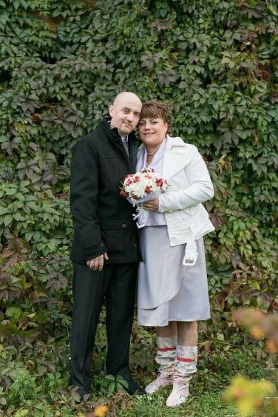Сергей и Наталья поженились через 2,5 месяца после аварии