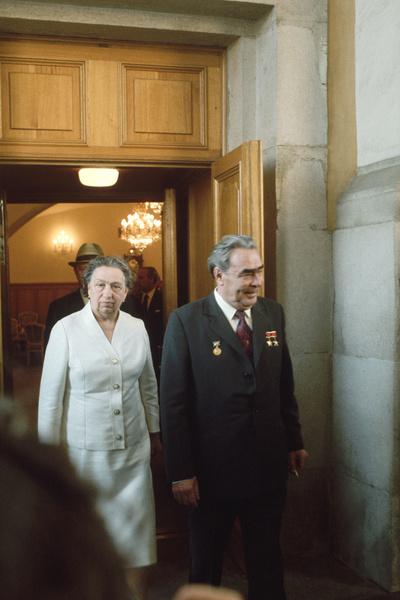 Всю жизнь политик провел с одной женщиной, супругой Викторией Петровной