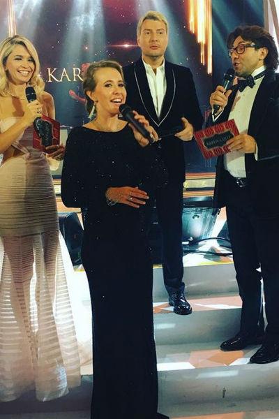 Ведущими мероприятия были главные звезды отечественного шоу-бизнеса
