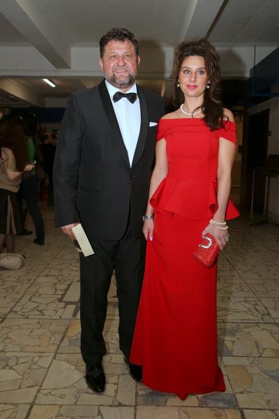 Александр Самойленко с женой Натальей Громовой