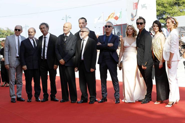 Актриса часто появляется в зарубежном кино и сериалах