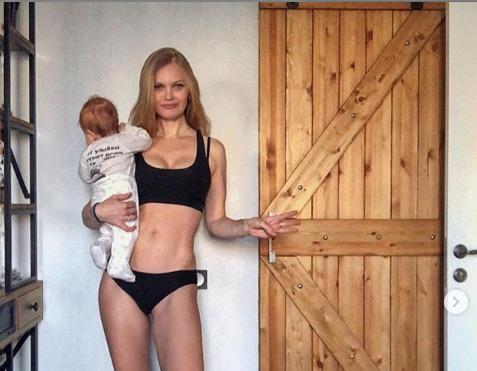 Кулецкая с младшей дочерью
