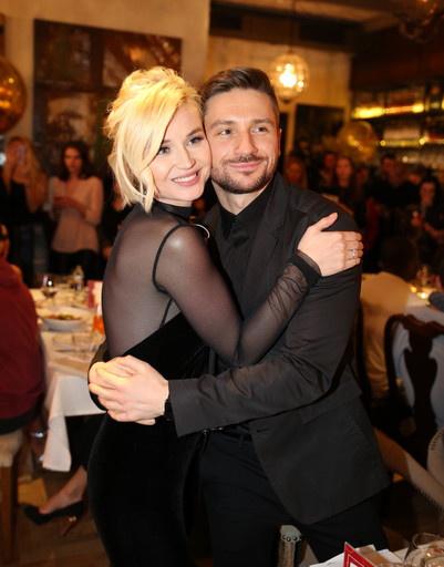 Полина Гагарина и Сергей Лазарев