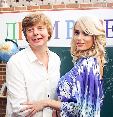 Андрей Григорьев-Апполонов с супругой Марией