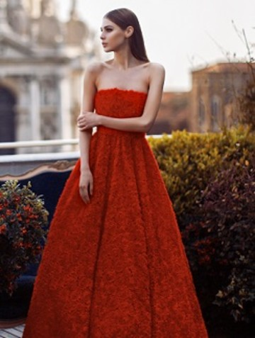 Платья из коллекции Yulia Prokhorova Beloe Zoloto