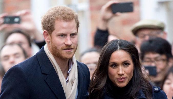 Принц Гарри впервые вывел невесту в свет