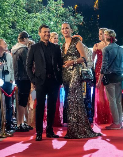 Эмин и певица Слава