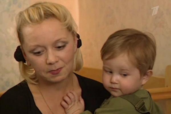 Когда актриса усыновила мальчика, ему было полтора года