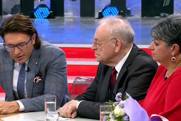 Игорь Кириллов и его нынешняя жена Татьяна в гостях у Андрея Малахова