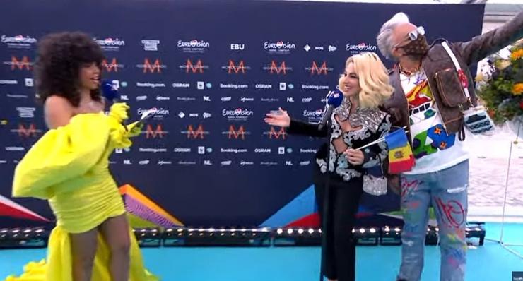 Филипп Киркоров поддерживал Наталью на дорожке