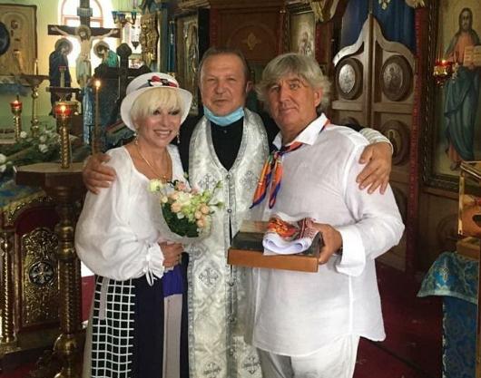 Валентина Легкоступова обвенчалась с яхтсменом в Крыму