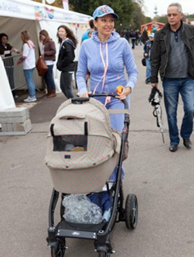 Эвелина Бледанс намерена защищать права своего ребенка