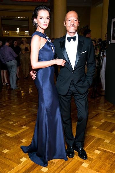 Осенью прошлого года Федор сыграл свадьбу с Паулиной Андреевой