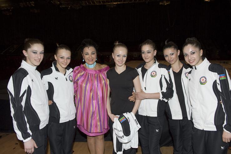 Ирина Винер-Усманова взрастила не одно поколение гимнасток