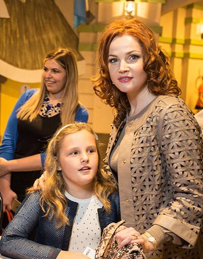 Екатерина Вуличенко с дочерью