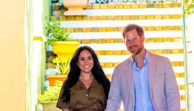 Меган Маркл и принц Гарри впервые взяли сына на светское мероприятие в Африке