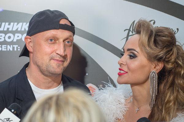 Гоша Куценко и Анна Калашникова