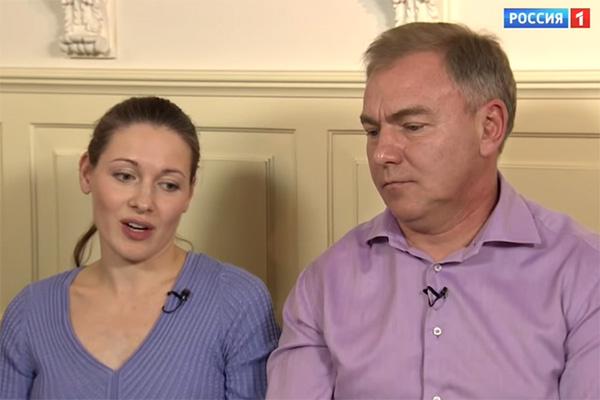 Ольга Красько и ее супруг Вадим