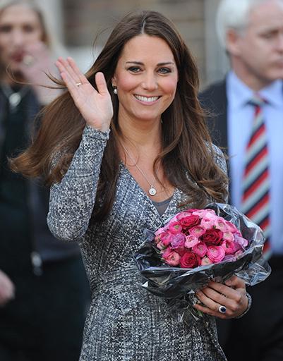 20 февраля. Несмотря на жуткий токсикоз Кейт всегда выглядит великолепно