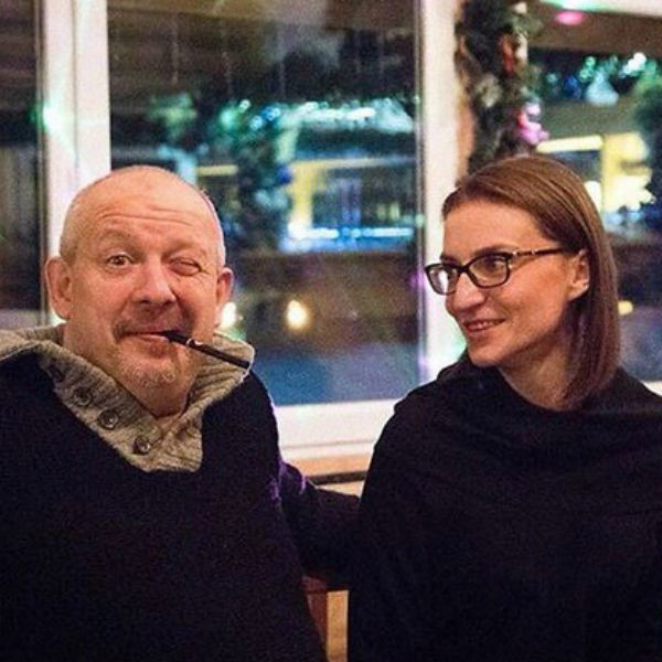 Марьянов с любимой женой Ксенией