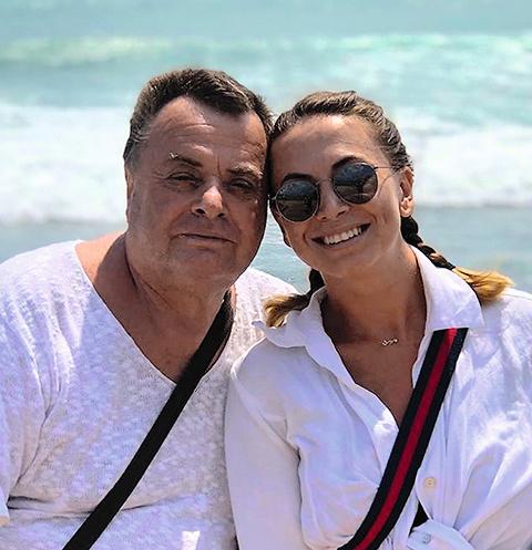 Владимир и Наталья Фриске