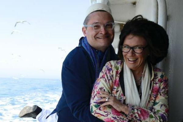 Со стилистом Жанной Дубска телеведущий дружит больше 20 лет, они часто путешествуют вместе по миру