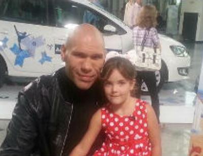 Дочь Николая Валуева дебютировала в кино