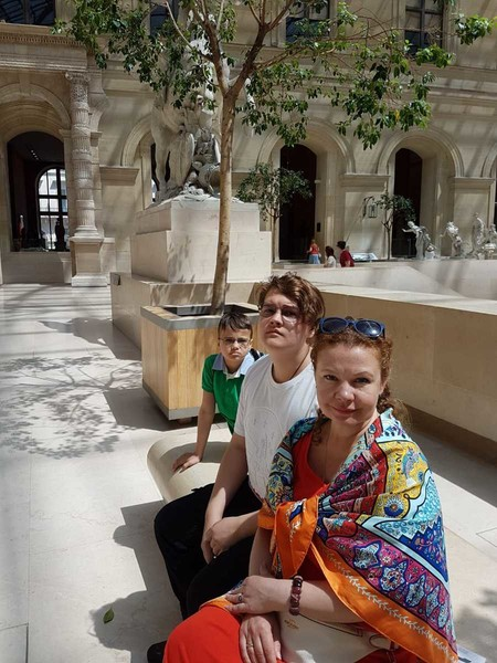 Абрамова обожает путешествовать вместе с семьей