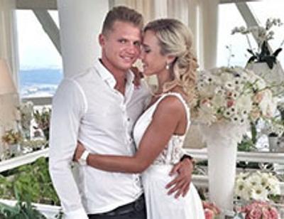 Ольга Бузова отметила годовщину свадьбы под крышей небоскреба