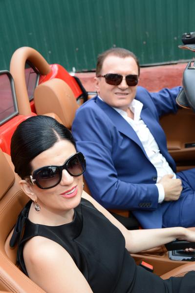 Певица с мужем Петром Кучеренко