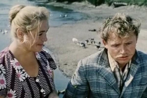 На съемках картины «Трын-трава» актриса встретила третьего мужа