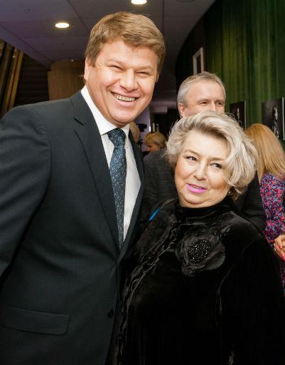 Дмитрий Губерниев и Татьяна Тарасова