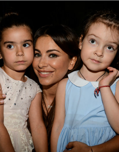 Ани Лорак с дочерью Соней и Аллой-Викторией Киркоровой