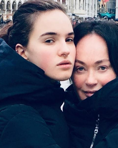Лариса Гузеева любит проводить время с дочерью