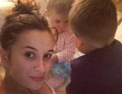 Елена Бушина впервые показала лицо дочери