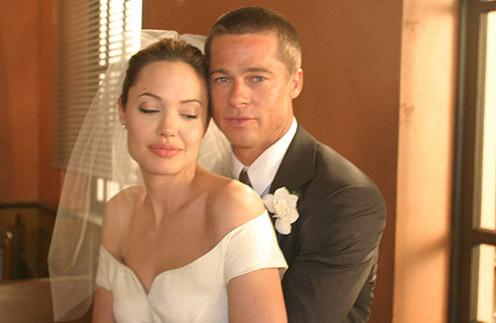 Брэд Питт и Анджелина Джоли - муж и жена!
