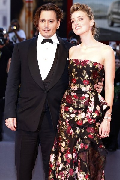 Джонни Деппа и Эмбер Херд считали красивой парой