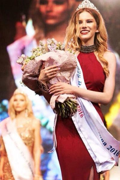 На престижном конкурсе молодая модель получила призовое место