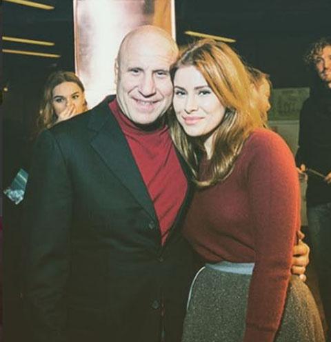Тата Бондарчук с отцом Михаилом Мамиашвили