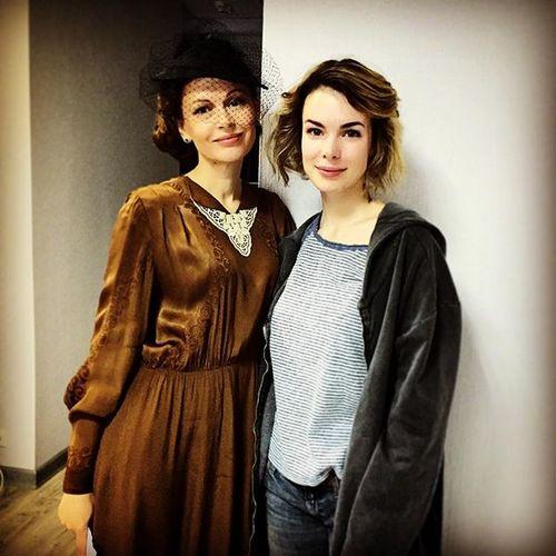 Ирина Безрукова и Анна Старшенбаум сейчас заняты в одном проекте