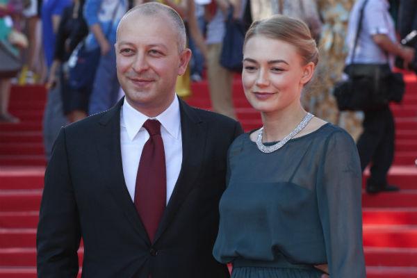 Оксана Акиньшина со вторым мужем Арчилом Геловани