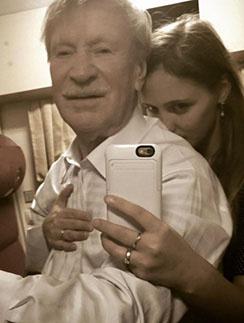 Иван Краско и его молодая жена Наталья